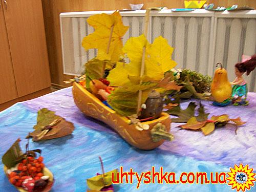 """Осенние поделки. """" рассылки  """"Ухтышка.  Детское творчество. """" от 30 октября..."""